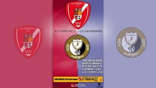 R.F.F.M - TERCERA DIVISIÓN NACIONAL (Grupo 7A) - Jornada 21 - A.D. Torrejon 3-1 C.D. San Fernando