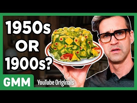 100 Years Of Food Taste Test