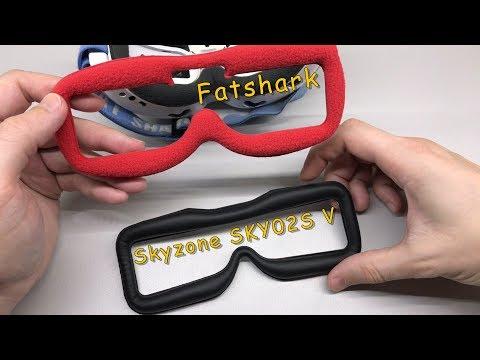 Примерка накладки от Skyzone на маску Fatshark