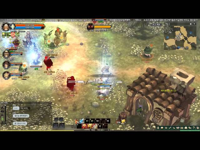 Tree of Savior Level 200 Rank 5 and 6 Party Grinding
