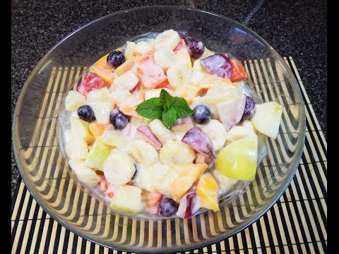 Creamy Fruit Chaat