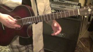BRETT YOUNG   MERCY   CVT Guitar Lesson By Mike Gross