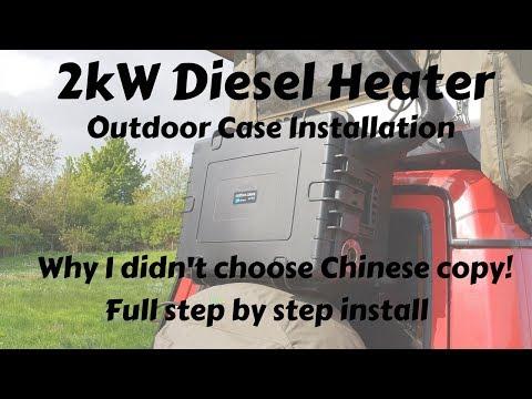 2kW Diesel Parking Heater Installed in Outdoor Case