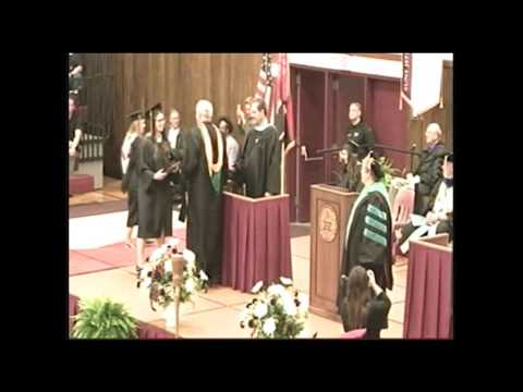 Commencement Ceremony Spring 2017 - Math & Science Degrees