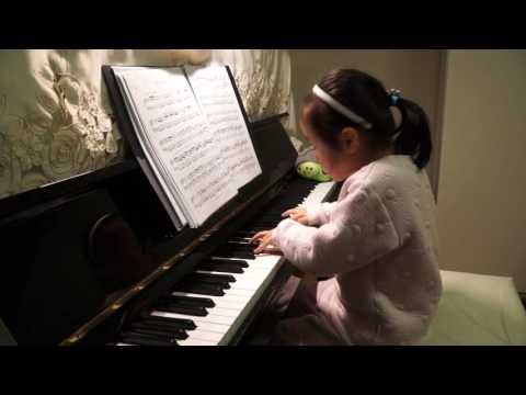 Anke Chen Playing Piano Sonata in D Major
