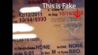 Fake ID Catch a Fake Texas ID