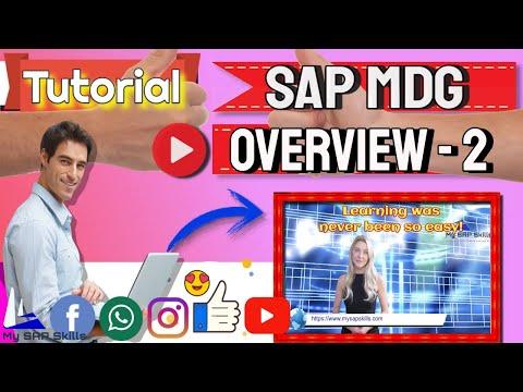 Sap Master Data Governance On Sap S/4hana 1909 & sap mdg ...