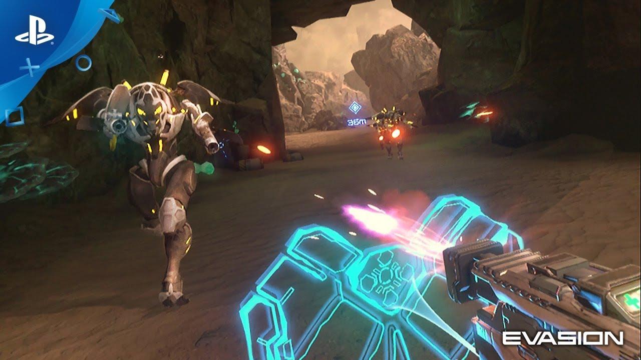 Apresentando Evasion: Um Jogo de Tiro Sci-Fi Que Chega ao PS VR Este Ano