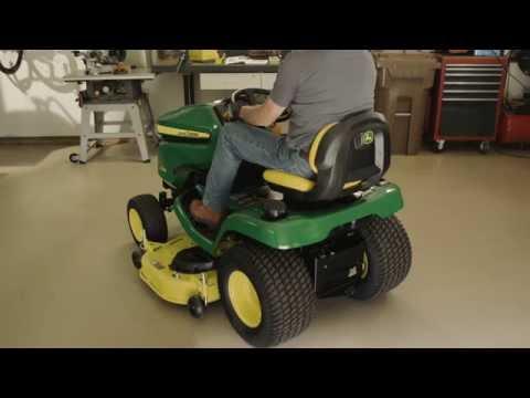 John Deere 48'' sideutkast klippeaggregat - film på YouTube