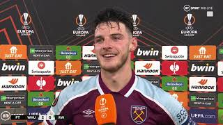 """""""Scoring is becoming a really nice feeling!"""" Declan Rice enjoys West Ham win and praises Mark Noble"""