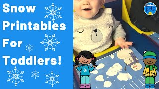 Snow Theme For Infants And Toddlers