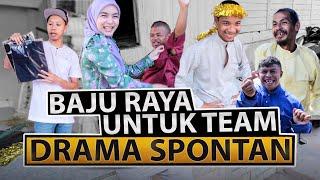 Baju Raya Yoe Terkoyak? | Baju Raya Untuk Team Drama Spontan