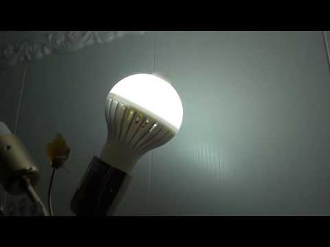 Проверка лампы с датчиком движения