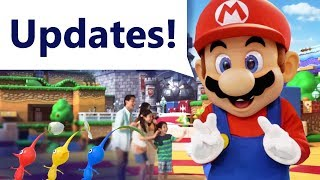 NEW Info on Super Nintendo World at Universal Parks