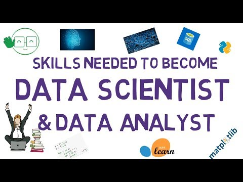 Skills Needed For Data Scientist and Data Analyst