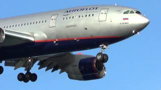 preview picture of video 'AEROFLOT - landing at Larnaca airport (CYPRUS)'