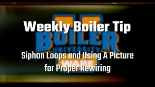 What Are Siphon Loops and Using a Picture for Proper Rewiring