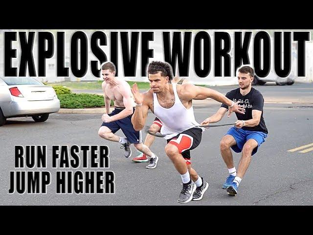 RUN FASTER & JUMP HIGHER   EXPLOSIVE WORKOUT