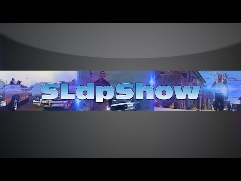 Speed Art Banner for Youtube - SLdpShow