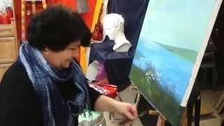 KARANDASH ART -ASHDOD.КУРСЫ ДЛЯ ВЗРОСЛЫХ (2015)  קורסי ציור שמן למבוגרים
