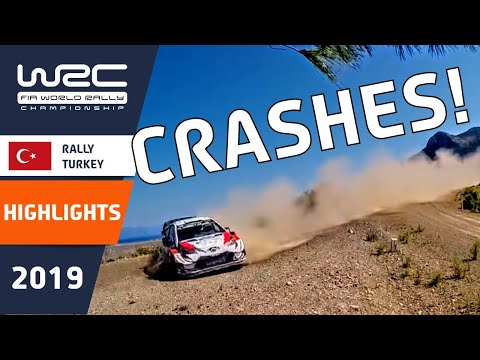 WRC - Rally Turkey 2019: Crash compilation