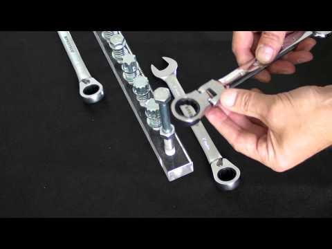 Proteco-Werkzeug Stop*n Go Ringratschenschlüssel mit Doppelfunktion. Ratschenschlüssel