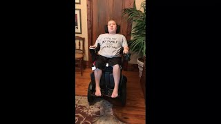 Wheelchair Stretching: Front of Hip