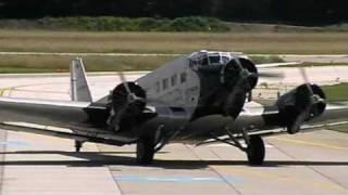 preview picture of video 'Ju 52-Flug von Klagenfurt nach Wr. Neustadt (Juni 2009)'