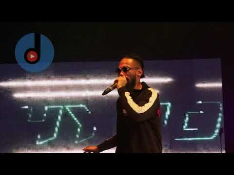 Fans pulled Lil kesh off stage in London : THECULTURETOUR CONCERT