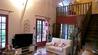 preview picture of video 'escamps  pavillon 6 pièces 154 m² sur sous-sol total Maiso'