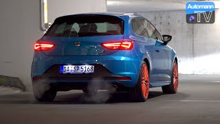 2016 SEAT Leon Cupra SC (290hp) - pure SOUND (60FPS)