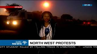 Update: North West protests