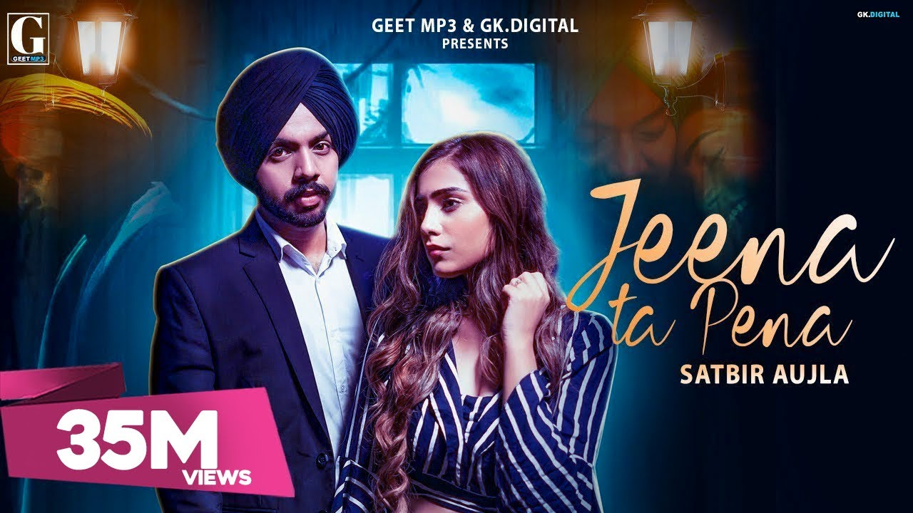 Jeena Ta Pena Lyrics Punjabi Song
