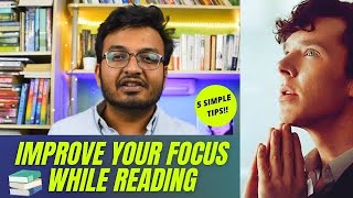 How To Stay Focused While Reading A Book || Tips to improve your focus while reading a book 📚📚