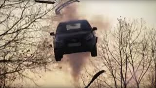 Launching A Car With An Air Cannon  Top Gear