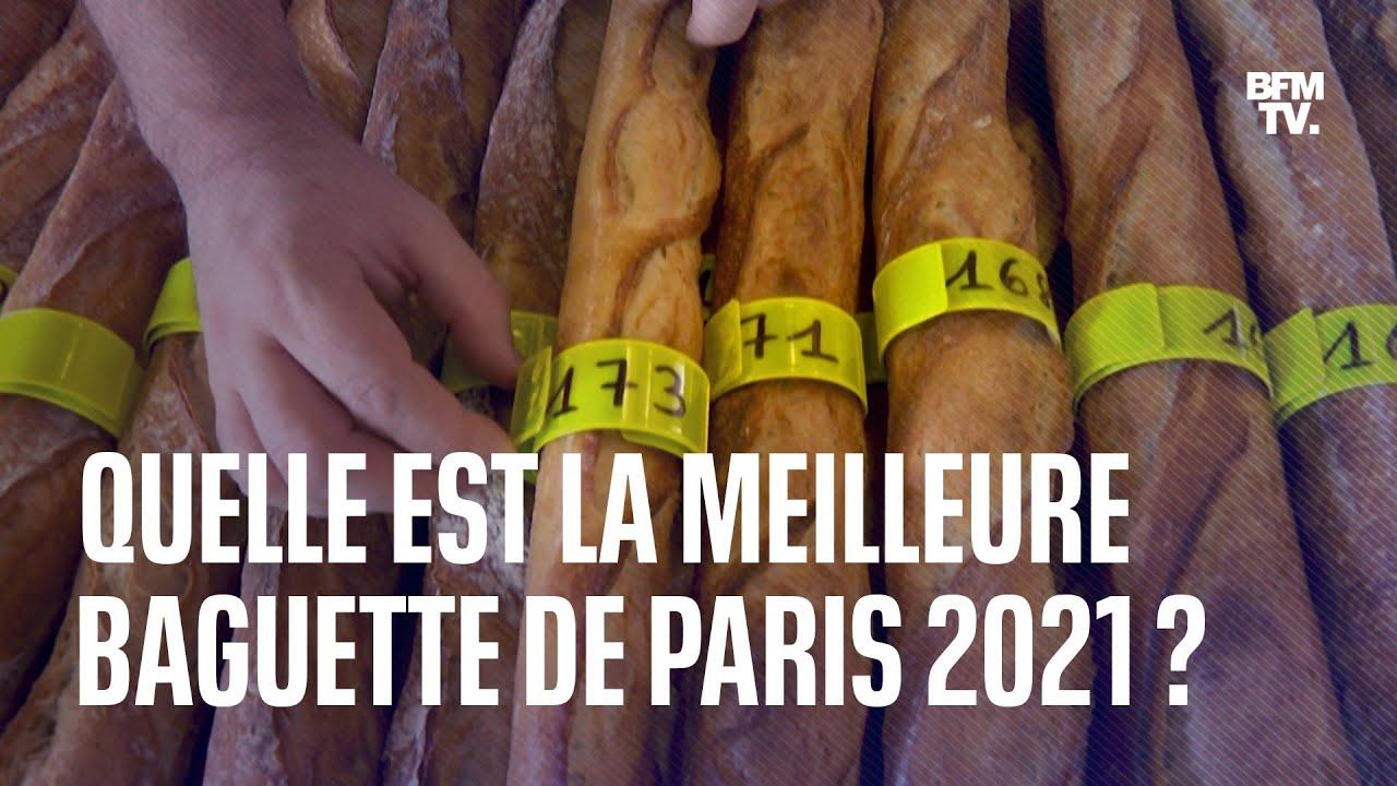 Découvrez quelle est la meilleure baguette de Paris 2021
