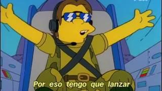 Canción Aniram al ne etatsila subtitulado | Los Simpson