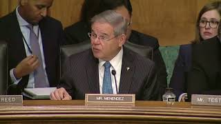 Menendez Opening Statement on Crapo Banking Bill