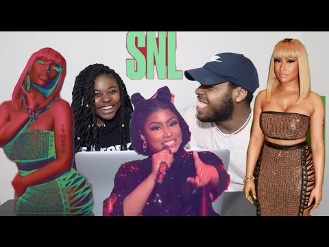 Nicki Minaj - Chun-Li (Live on SNL / 2018) | REACTION!!!!