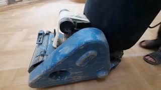 Видео процесса циклевочных работ в квартире