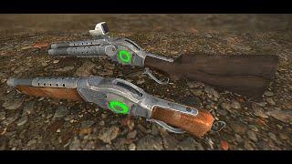 FNV Arsenal Weapons Overhaul - Plasma Lever Action Shotgun