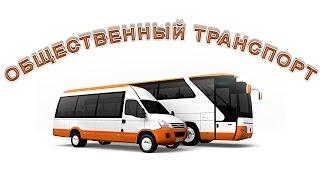 Общественный транспорт. Развивающее видео. Познаём Мир.