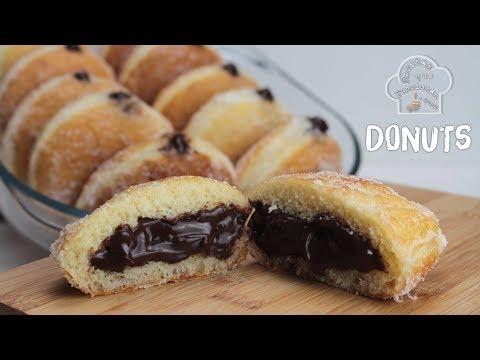 DONUTS de azúcar rellenos de Chocolate Beignet