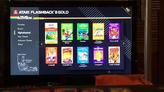 Atgames Atari Flashback 8 Gold Hd Activision Edition 免费在线