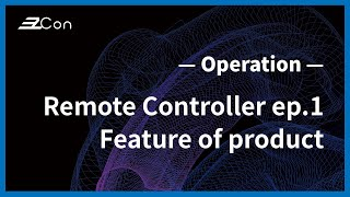 EzCon | Remote Controller | TX-RC-1 | EP1 Feature of product |