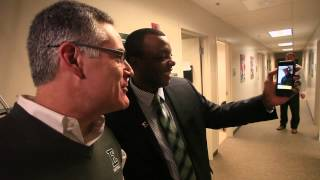 Video: Eastern Michigan coaching staff Skypes with commit Willie Parker