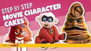 3 Movie Character Cakes| Compilation | How To Cake It