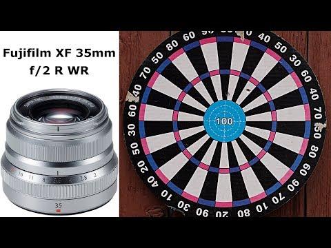 Prezentare Obiectiv foto Fujifilm Fujinon XF 35mm F2 R WR - despachetare, fotografii si video