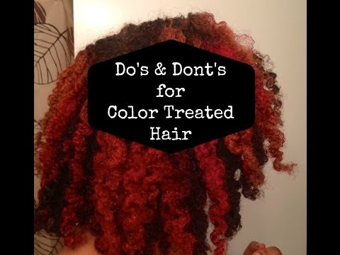 Video Do's & Don'ts of Caring for Color Treated Hair