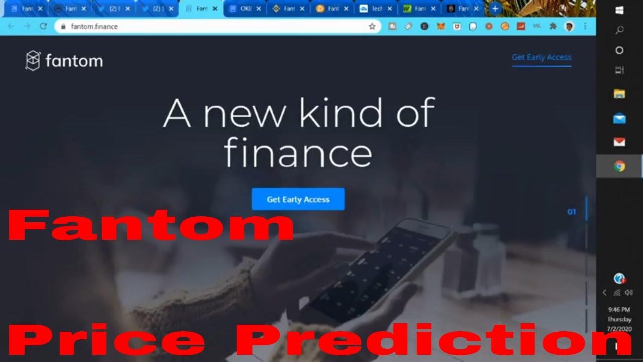 Fantom Cost Forecast 2020 Fantom Financing Ftm Crypto Coin Fantom News Today Fantom Defi thumbnail